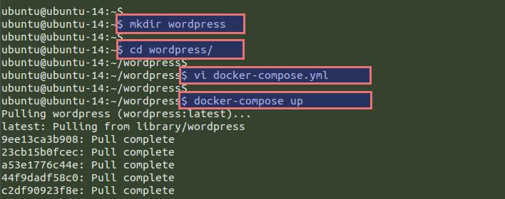VEXXHOST - Installing Wordpress & PhpMyAdmin with Docker Compose