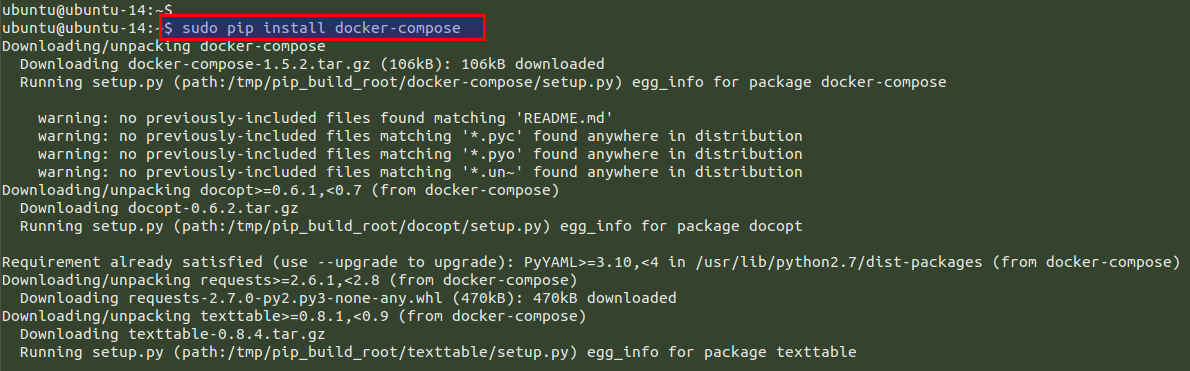 How To Install and Use Docker Compose on Ubuntu 14 04 - VEXXHOST