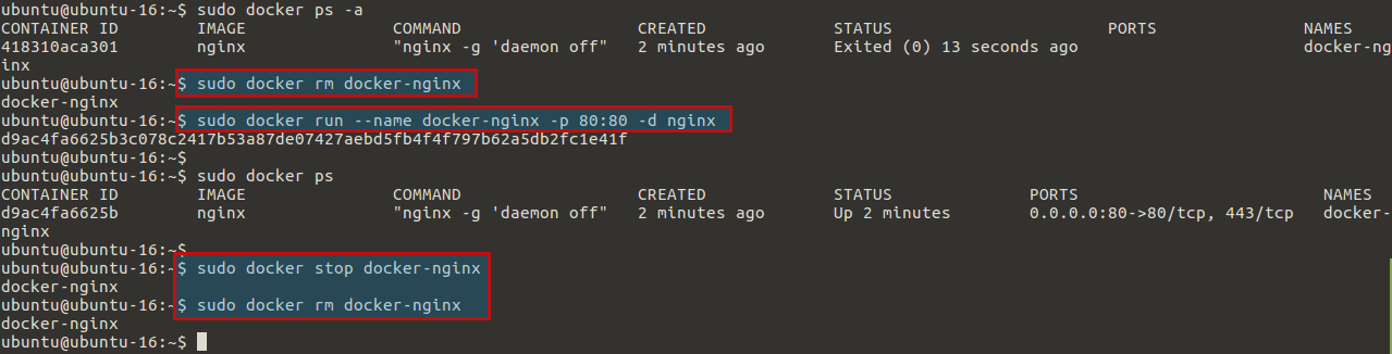 How To Run Nginx in a Docker Container on Ubuntu 16 04