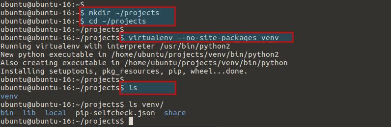 venv-directories