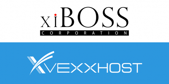 xiBoss and Vexxhost logos