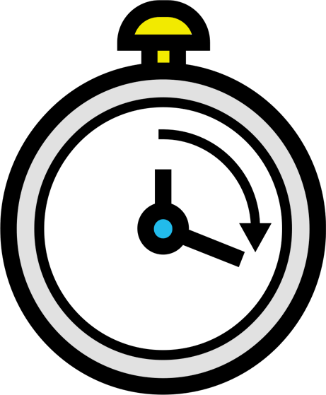 Timer with Yellow Stopper