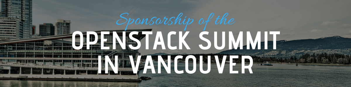 Sponsorship of the OpenStack Summit in Vancouver
