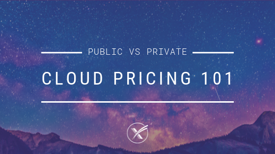 cloud pricing 101 public cloud private cloud