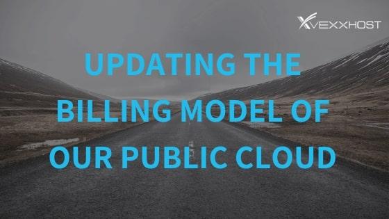 public cloud users billing model