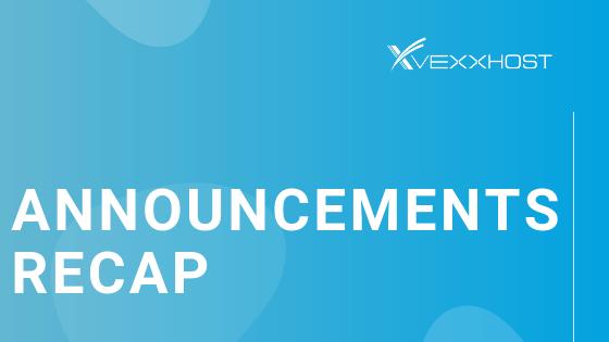 vexxhost announcements openstack upgrades