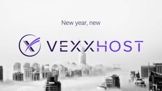 VEXXHOST rebranding logo new decade