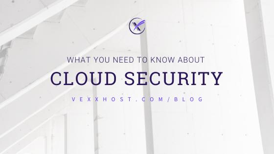 cloud security vexxhost blog header