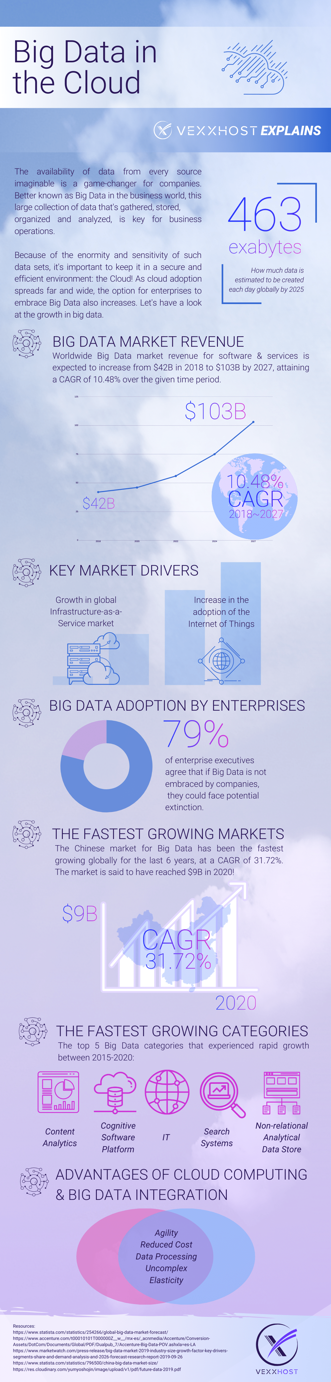 Infographic: Big Data in the Cloud