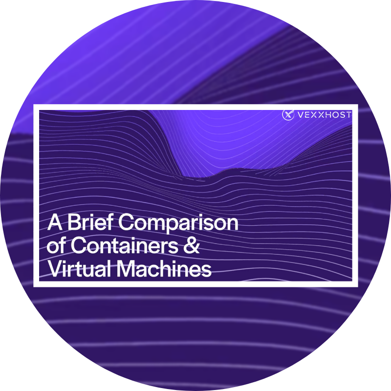 A brief comparison of containers and virtual machines