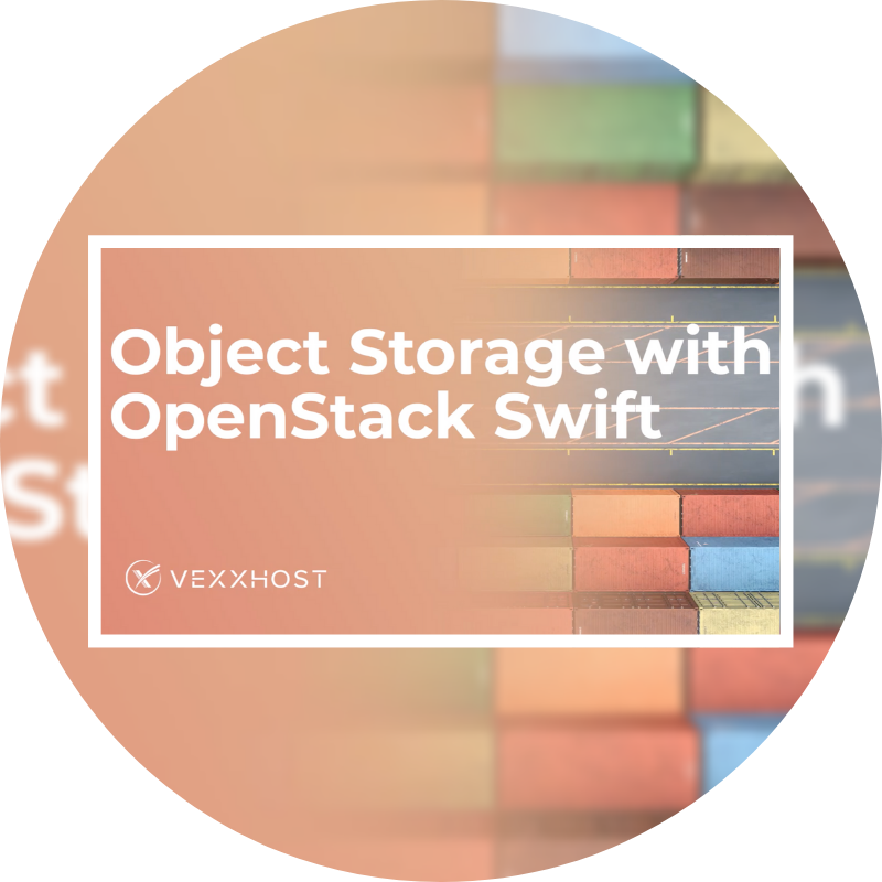 Object Storage with OpenStack Swift