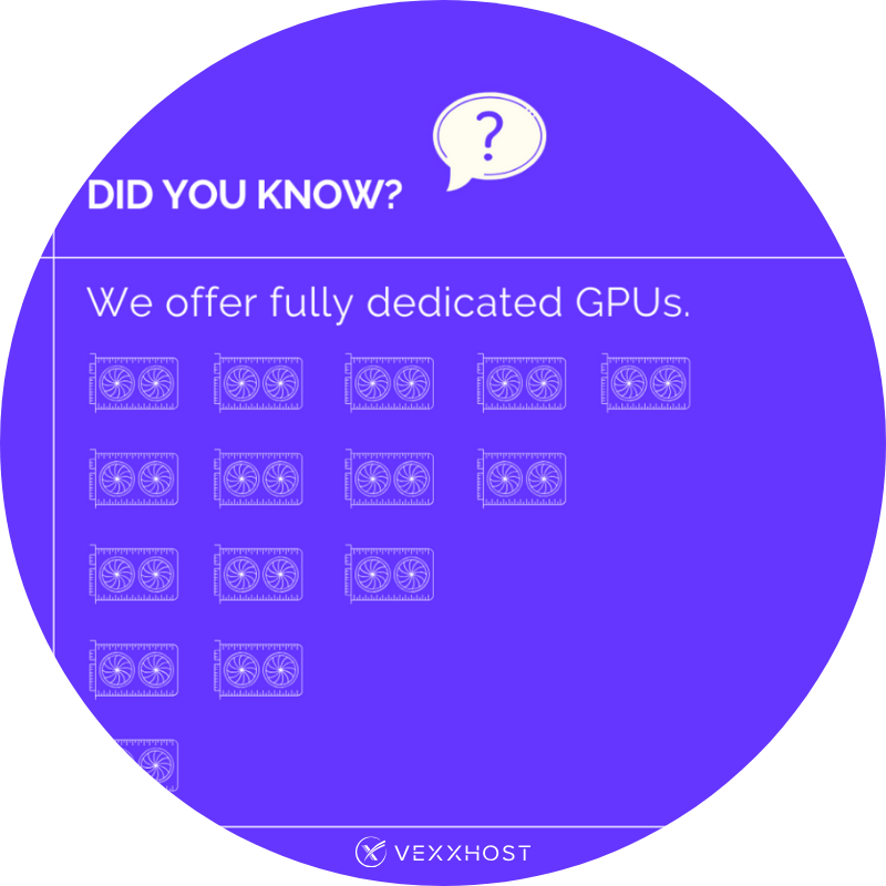 Get to Know Our Fully Dedicated GPUs