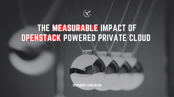The Measurable Impact Of OpenStack Powered Private Cloud