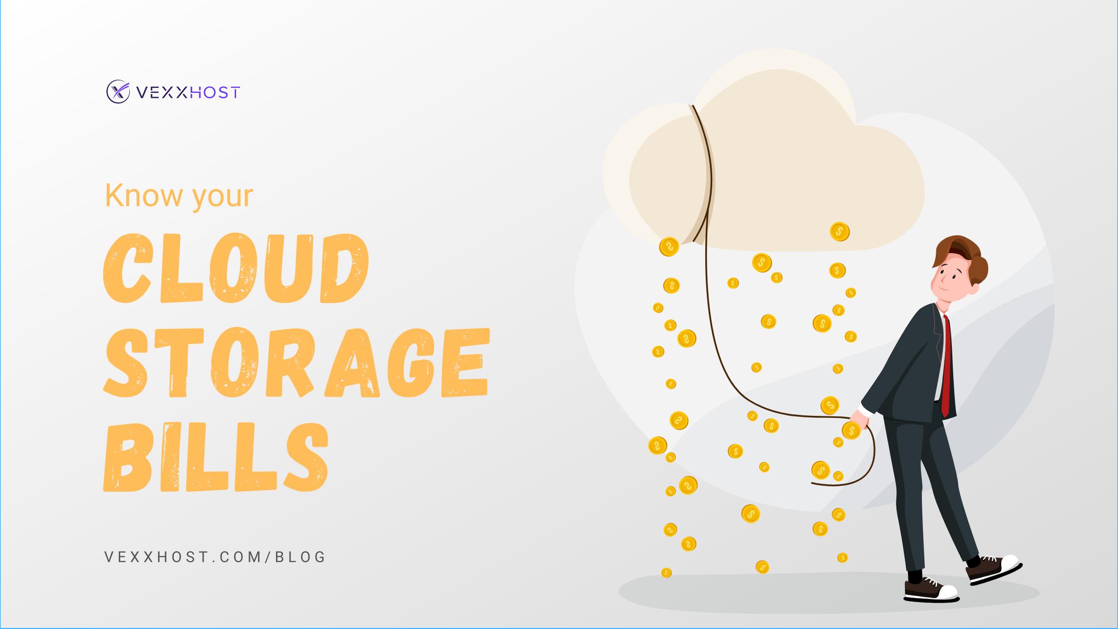 Public Cloud Storage Bills
