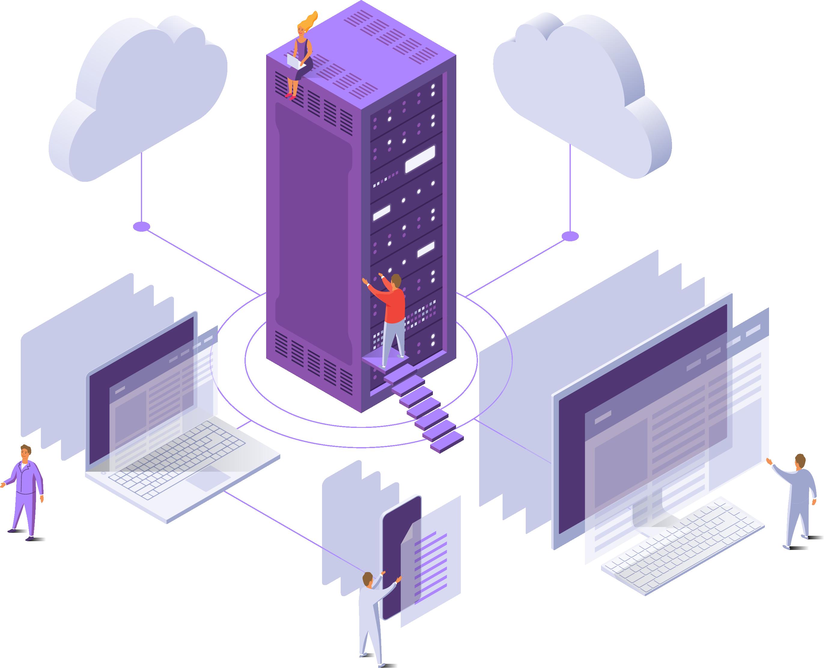 OpenStack powered cloud