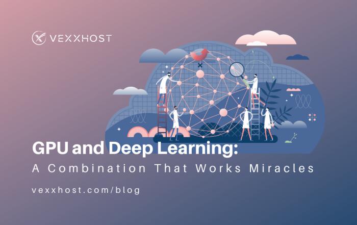gpu and deep learning vexxhost blog illustration header