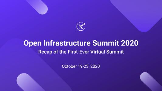 open infrastructure summit 2020 recap blog header