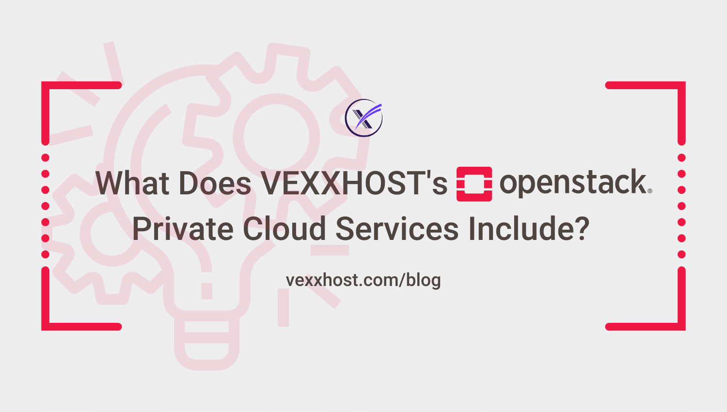 vexxhost openstack private cloud services blog header